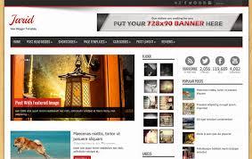 templates blogger premium 2015 jarid responsive blogger template geotemplate free download