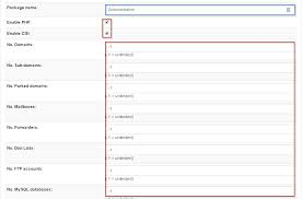 Domain Manager Title How To Change Resource Limits In Zpanel Hostwinds Knowledgebase