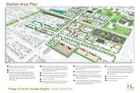 houseal lavigne associates south chicago heights station area