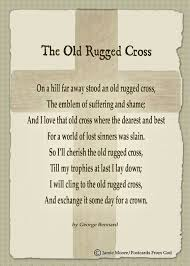 Song Lyrics Old Rugged Cross Lyrics To Old Rugged Cross Roselawnlutheran