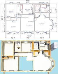 2nd Floor House Plan by Bedford Modular Colonial House