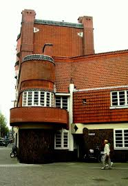 Architectural Style Of House The Amsterdam Style Of Architecture 1915 1940 Amsterdam