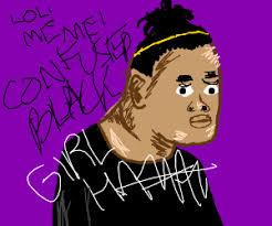 Confused Black Girl Meme - confused black girl meme drawing by yoshifire8