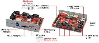 addonics 5 port hpm xu port multiplier with esata and usb 3 0