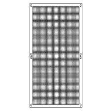 reti per gabbie pannello modulare per gabbie animali a1 95 x 190 cm