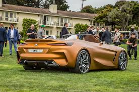 bmw concept z4 hits the lawn at pebble beach auto timeless
