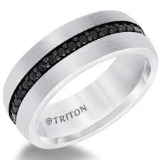 black wedding bands for 35 men s wedding bands he ll brides
