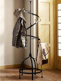 Decorative Metal Garment Floor Rack by Innovation Interesting Interior Storage Design With Coat Rack