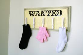 Cute Laundry Room Decor by Wanted Laundry Board Tutorial