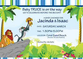 baby shower invitation lion king lion 20king 20baby 20shower 2011