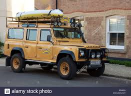 vintage land rover discovery a camel trophy land rover defender a rugged off road vehicle