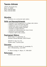 Students Resume Sample by 10 Good Resume Sample For College Student Invoice Template Download