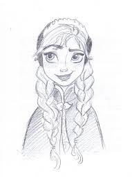 drawn frozen doodle pencil color drawn frozen doodle
