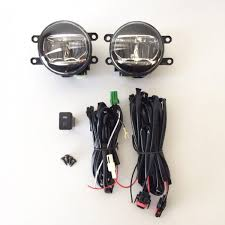 2008 toyota tacoma fog light kit built in led fog driving lights kit wire for 2006 2017 toyota camry