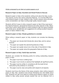 writing an introduction for research paper calameo research paper on italy excellent and great points to calameo research paper on italy excellent and great points to discuss