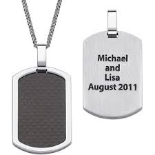 mens dog tags engraved cheap personalized chrome dog tag find personalized chrome dog tag