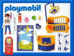 chambre bébé playmobil 9a maison moderne interieur 3207 maman chambre de bébé photo