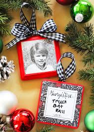 list photo ornament tutorial diy ornament idea