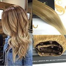 micro weft extensions balayage remy ombre easy weft hair extensions 22