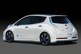 nissan leaf used seattle the nissan leaf gets nismo fied in tokyo show concept car and