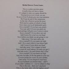 wedding shower poems wedding shower pass the gift poem imbusy for
