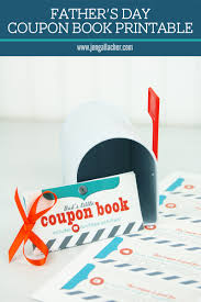 jen gallacher father u0027s day coupon book printable
