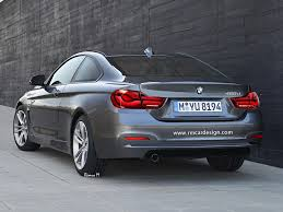 bmw 4 series launch date bmw 4 series coupe facelift rendered looks like the deal