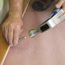 How To Install Hardwood Floors On Concrete Without Glue - how to install a solid hardwood floor