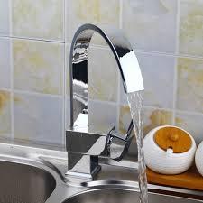 Tap Kitchen Faucet De 360 Swivel Kitchen Faucet Contemporary Stream Spout Chrome