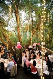 How To Decorate A Backyard Wedding Benched Seating No Arbor Pedals Lanterns Wedding Pinterest