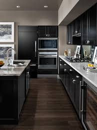 Black Cabinet Kitchens Pictures I Have These High Gloss Cabinets But Never Considered The Wood