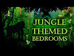 jungle themed bedroom jungle themed bedroom decorating ideas youtube