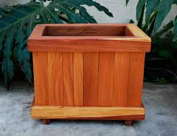 Wooden Window Flower Boxes - the window box planters built to last decades forever redwood