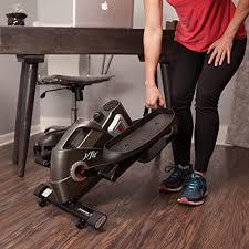 Exercise Equipment Desk Jfit Under Desk U0026 Stand Up Mini Elliptical Stepper W Adjustable