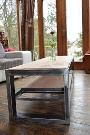 Table Acier Bois Industriel by 18 Best Meuble Tv Sur Mesure Images On Pinterest Industrial