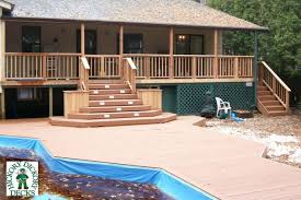Box Stairs Design Large Planter Boxes Pool Deck Plans Oval Pool Deck Box Plans