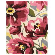 Magenta Area Rug Linon Home Decor Trio Pink Magenta 1 Ft 10 In X 2 Ft 10 In