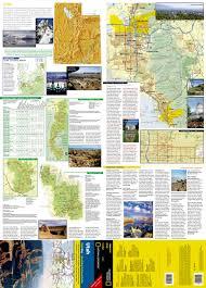 Utah Zip Code Map by Utah National Geographic Guide Map National Geographic Maps