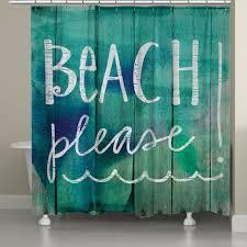Beachy Shower Curtains Shower Curtain Laural Home