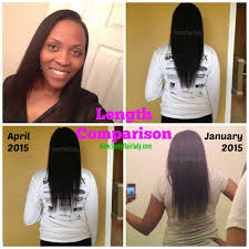 Castor Oil For Hair Loss Castor Oil Challenge Before U0026 After Fancyflairlady
