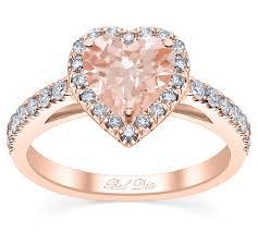 morganite engagement ring gold cut morganite engagement ring in gold