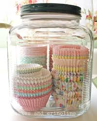 cupcake canisters for kitchen organizing with jars a great option to unclutter your home