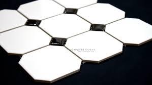 octagon porcelain mosaic tiledaily