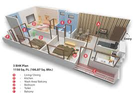 marvellous plan of 3bhk house pictures best inspiration home