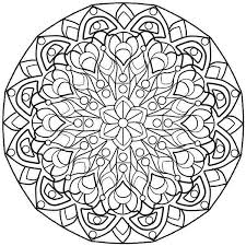 printable complex mandala coloring pages coolest coloring