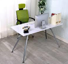 Office Workstation Desk by Furnitureboxuk White