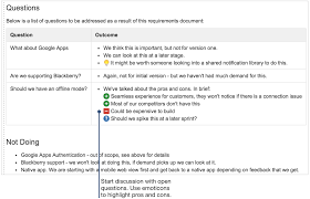how to document product requirements in confluence atlassian