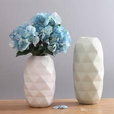 vase origami ceramic novel vase modern minimalist living