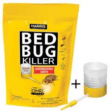 Black Flag Bug Spray Harris Bed Bug Killer Diatomaceous Earth Powder 4lb W Free