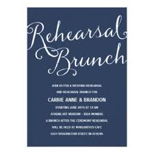 rehearsal brunch invitations rehearsal brunch invitations announcements zazzle